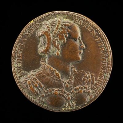 Lucrezia de' Medici, 1545-1561, Daughter of Cosimo I, First Wife of Alfonso II d'Este 1558 [reverse]