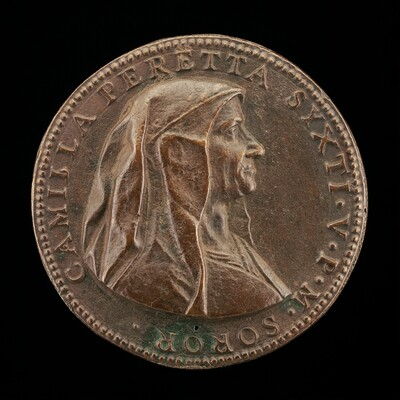 Camilla Peretti, died 1591, Sister of Pope Sixtus V [obverse]