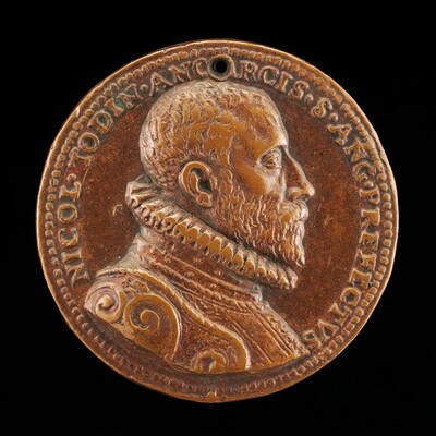 Niccolo Todini of Ancona, Captain of Castel Sant'Angelo, 1585-1591 [obverse]