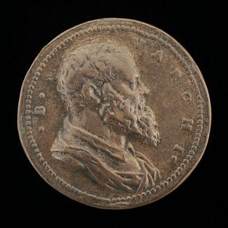 Benedetto Varchi, 1502-1565, Florentine Historian and Man of Letters [obverse]