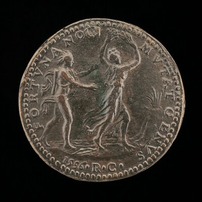 Apollo Pursuing Daphne [reverse]