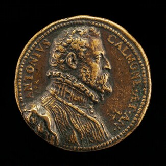 Antonio Calmone, Secretary to Philip II [obverse]