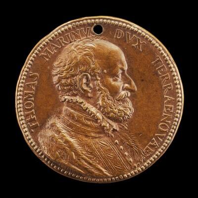 Tommaso Marini of Genoa, Duke of Teranuova [obverse]