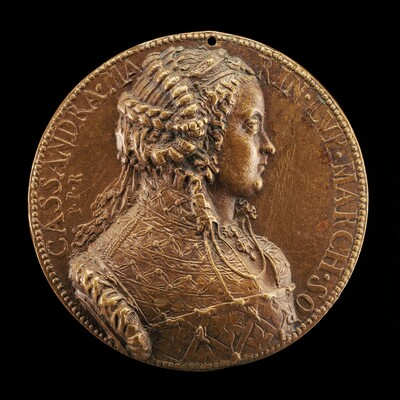 Cassandra Marinoni, died 1575, Wife of Deifobo II Melilupi [obverse]