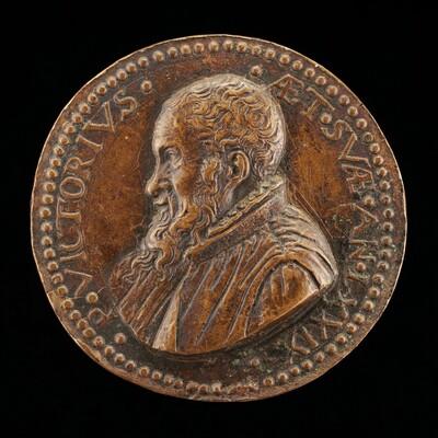 Pietro Vettori the Younger, 1499-1585, Florentine Scholar [obverse]