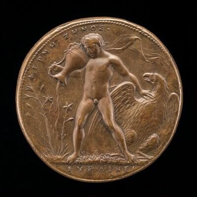 Ganymede Watering the Farnese Lilies [reverse]