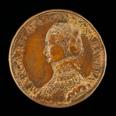 Marguerite de France, died 1574, Wife of Emanuele Filiberto 1559 [reverse]