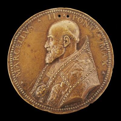 Marcellus II (Marcello Corvino, 1501-1555), Pope 1555 [obverse]