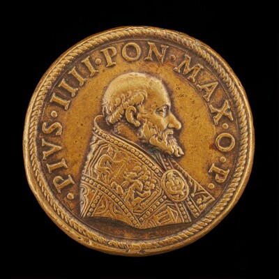 Pius IV (Giovanni Angelo de' Medici, 1499-1565), Pope 1559 [obverse]