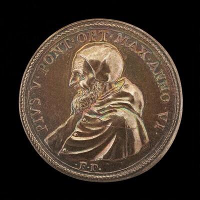 Pius V (Michele Ghislieri, 1504-1572), Pope 1566 [obverse]
