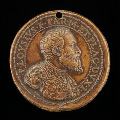 Pier Luigi Farnese, 1503-1547, 1st Duke of Parma and Piacenza 1545 [obverse]