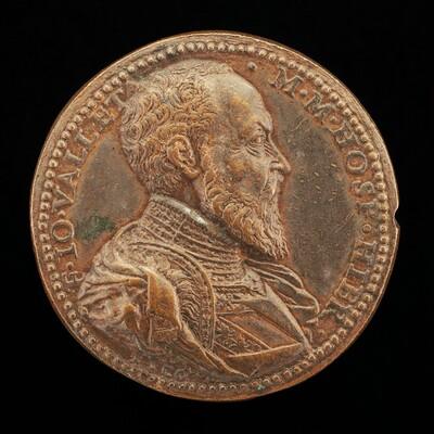 Jean Parisot de la Vallette, 1494-1568, Grand Master of Malta 1557-1568 [obverse]