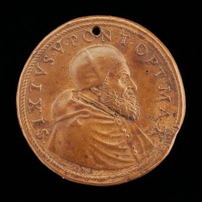 Sixtus V (Felice Peretti, 1521-1590), Pope 1585 [obverse]