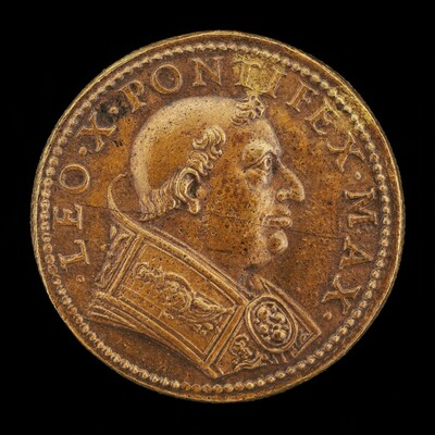 Leo X (Giovanni de' Medici, 1475-1521), Pope 1513 [obverse]