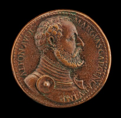Alfonso II d'Avalos, 1502-1546, Marquess of Vasto [obverse]