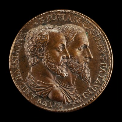 Alessandro Bassiano and the Medallist [obverse]