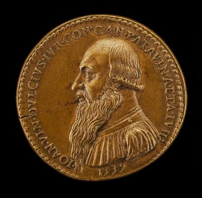 Giovanni Antonio Vincenzo Dolce, 1482-1555, Paduan Jurist, Canon of Padua 1516 [obverse]