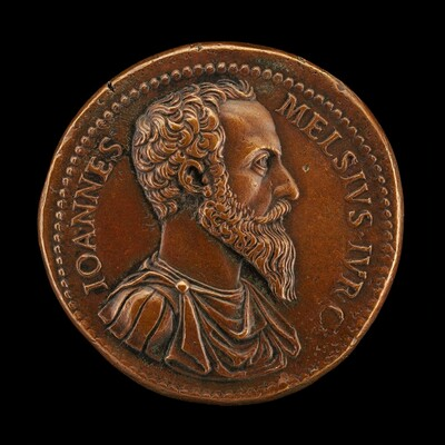 Giovanni Mels, died 1559, Jurist [obverse]