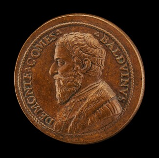 Balduino del Monte, died 1556, Brother of Pope Julius III, Count of Monte Sansovino 1550 [obverse]