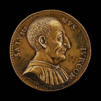 Luca Salvioni, died 1536, Paduan Jurist [obverse]
