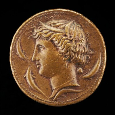 Head of Arethusa [obverse]