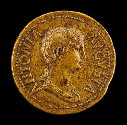 Antonia, 36 B.C.-A.D. c. 38, Daughter of Mark Antony and Octavia [obverse]