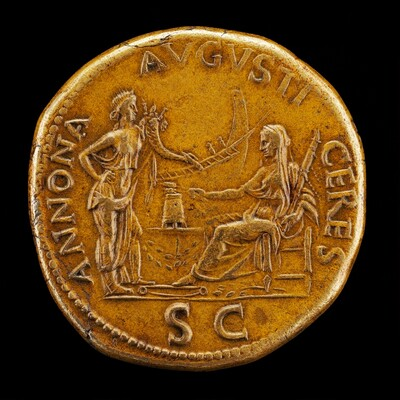 Ceres and Annona [reverse]