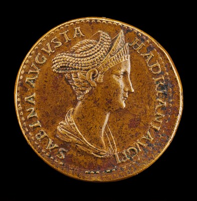 Sabina, died  A.D. 136 or 137, Wife of Hadrian [obverse]