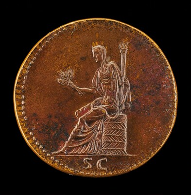 Ceres Holding Ears of Corn and a Torch [reverse]