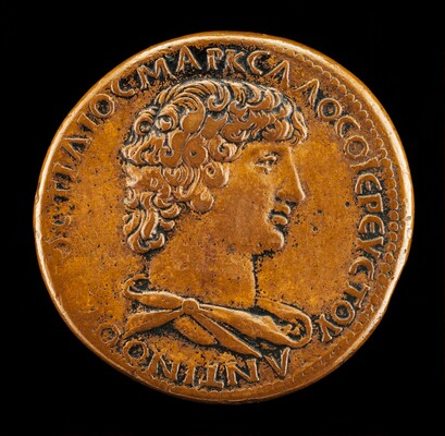 Antinous, died A.D. 130, Favorite of the Emperor Hadrian [obverse]
