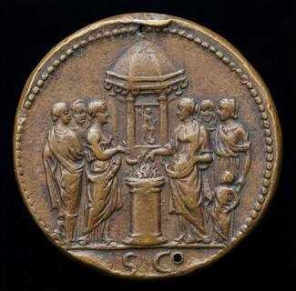 Empress and Five Women Sacrificing [reverse]