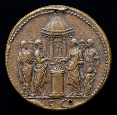 Empress and Five Women Sacrificing [reverse]