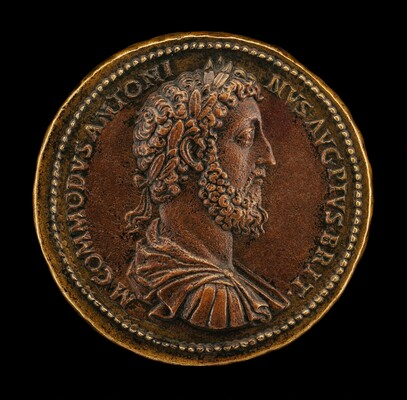 Commodus, Emperor, reigned  A.D. 177-192 [obverse]