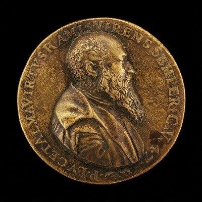 Pietro Lauro, born 1508, Modenese Poet and Scholar [obverse]