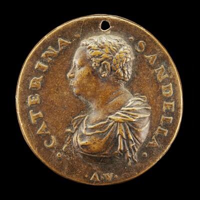 Caterina Sandella of Venice, Wife of Pietro Aretino 1548