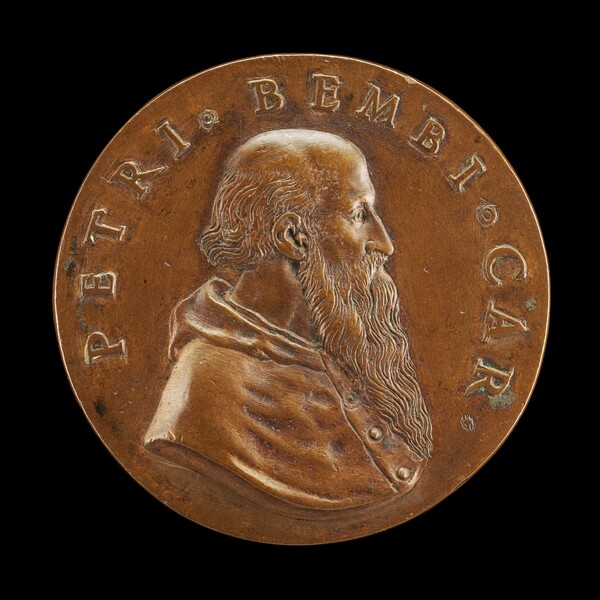 Pietro Bembo, 1470-1547, Cardinal 1538, Venetian Philologist, Poet and Belletrist [obverse]