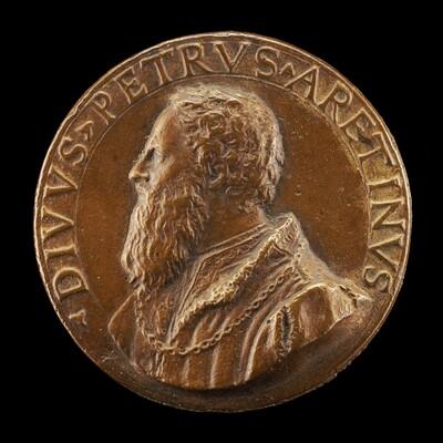 Pietro Aretino, 1492-1556, Satirist [obverse]