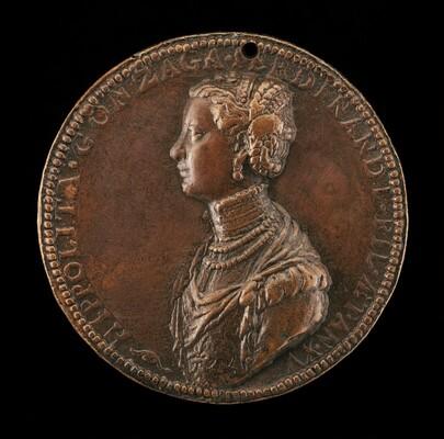 Ippolita di Ferdinando Gonzaga, 1535-1563 [obverse]
