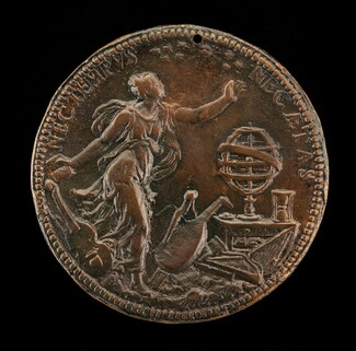 Ippolita Looking at a Crown of Stars [reverse]