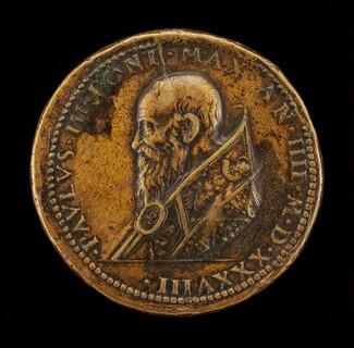 Paul III (Alessandro Farnese, 1468-1549), Pope 1534 [obverse]