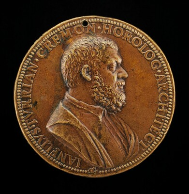 Giannello della Torre of Cremona, 1500-1585, Engineer in the Service of Charles V (obverse)
