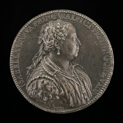 Isabella Capua, Princess of Malfretto, Wife 1529 of Ferrante Gonzaga, died 1559 [obverse]