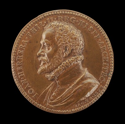 Juan de Herrera, c. 1530-1597, Architect of the Escorial [obverse]