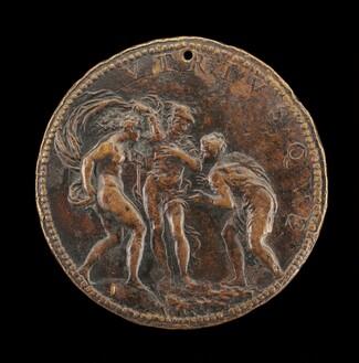Lomazzo Presented to Mercury by Fortune [reverse]
