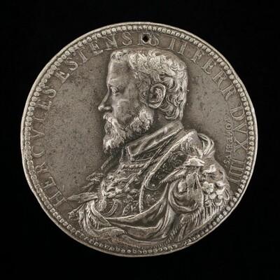Ercole II d'Este, 1508-1559, 4th Duke of Ferrara 1534 [obverse]