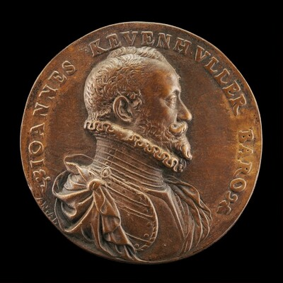 Baron Johann von Khevenhüller, 1537/1538-1606 [obverse]