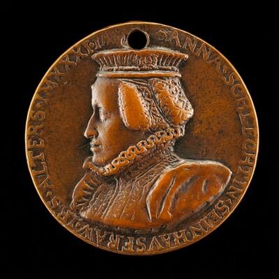 Susanna Schlecht Zäh, born 1541, Wife of Sebastian Zäh 1560 [reverse]
