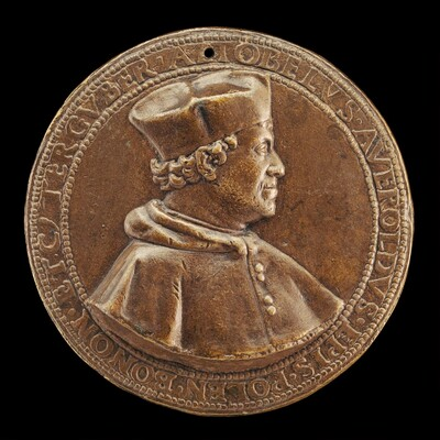 Altobello Averoldo, c. 1468-1531, Bishop of Pola, Thrice Governor of Bologna [obverse]