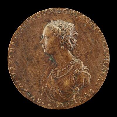 Guilia Orsini, 1537-1598, Wife of Baldossare Rangoni c. 1554 [obverse]