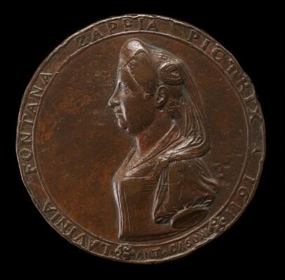 Lavinia Fontana, 1552-1614, Bolognese Painter [obverse]